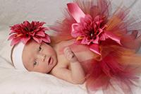 Юбка из фатина для новорожденной своими руками